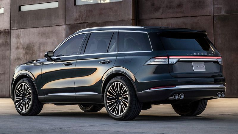 Новый Lincoln Aviator 2018