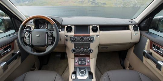 Land Rover Discovery Sport салон