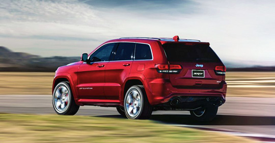 Новый Jeep Grand Cherokee SRT