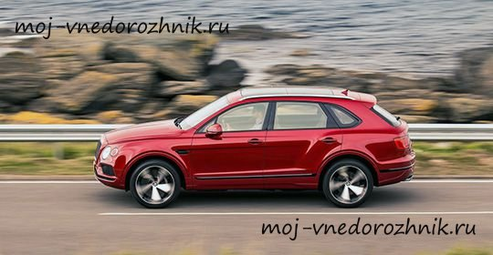 550-сильный Bentley Bentayga V8