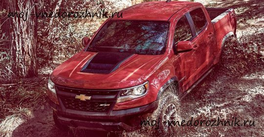 Новый Chevrolet Colorado фото