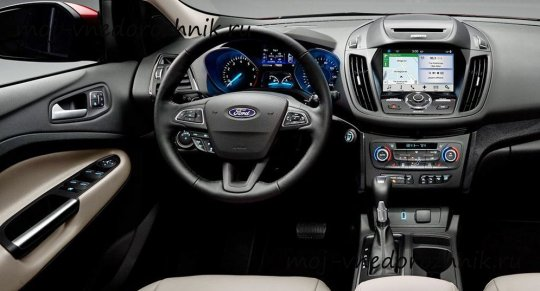 Фото салона Ford Escape 2017