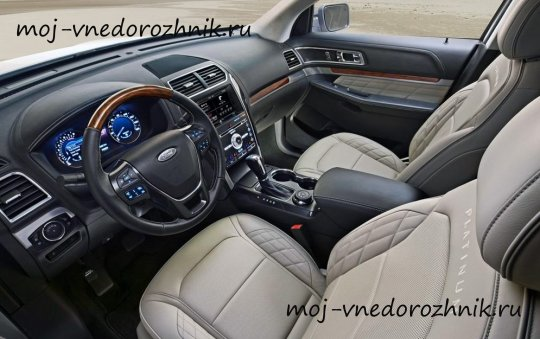 Фото салона Ford Explorer 2016
