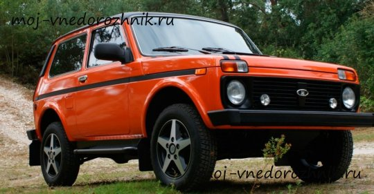 Lada 4x4 Orange Edition фото