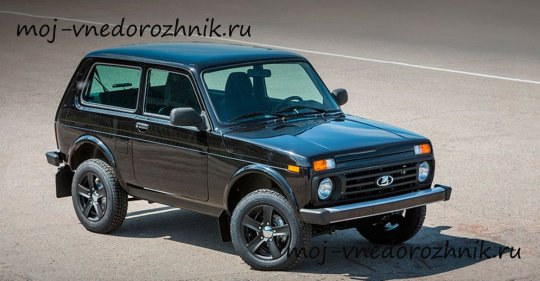 Lada 4x4 Black Edition фото