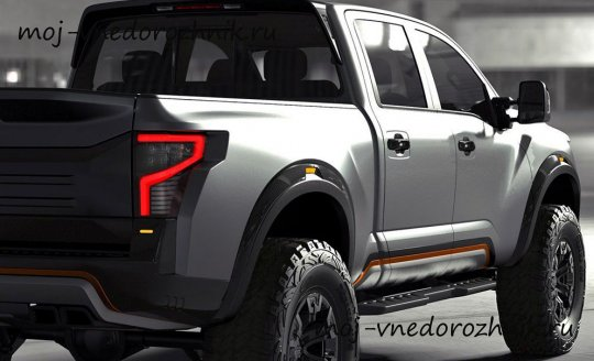 Nissan Titan Warrior фото