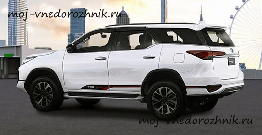 Toyota Fortuner TRD Sportivo фото