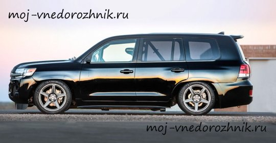 Фото нового Land Speed Cruiser