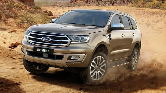 Ford Everest 2018: фото и характеристики