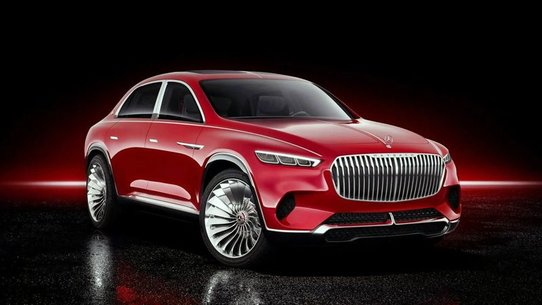 Mercedes-Maybach Ultimate Luxury: фото и характеристики кросс-седана