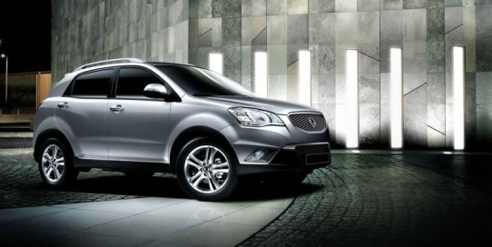 SsangYong Action 2014: фото кроссовера