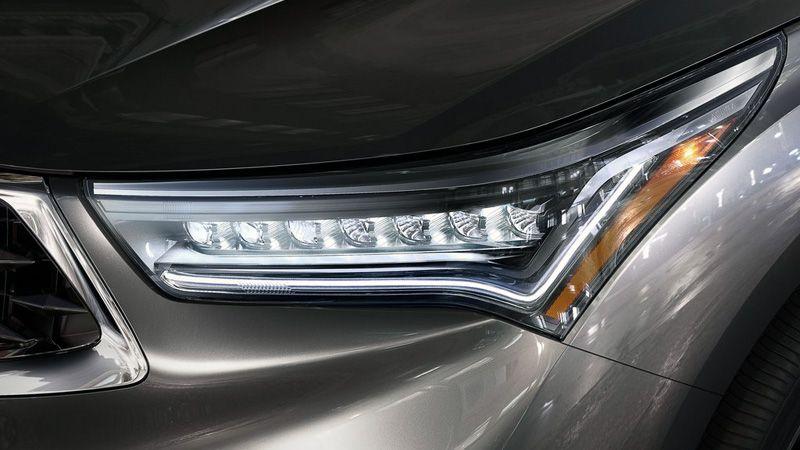 Передняя оптика Acura RDX 2018