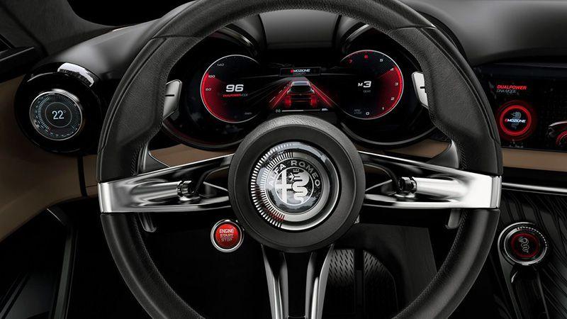 Руль Alfa Romeo Tonale