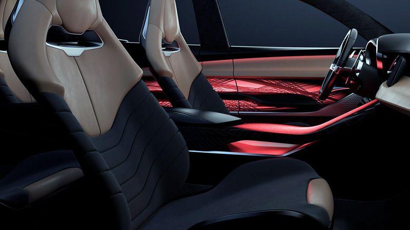 Интерьер кроссовера Alfa Romeo Tonale