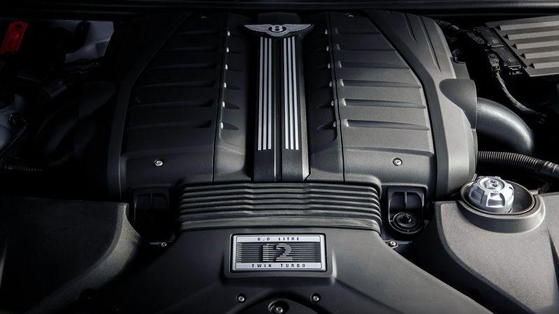 Двигатель Bentley Bentayga Speed