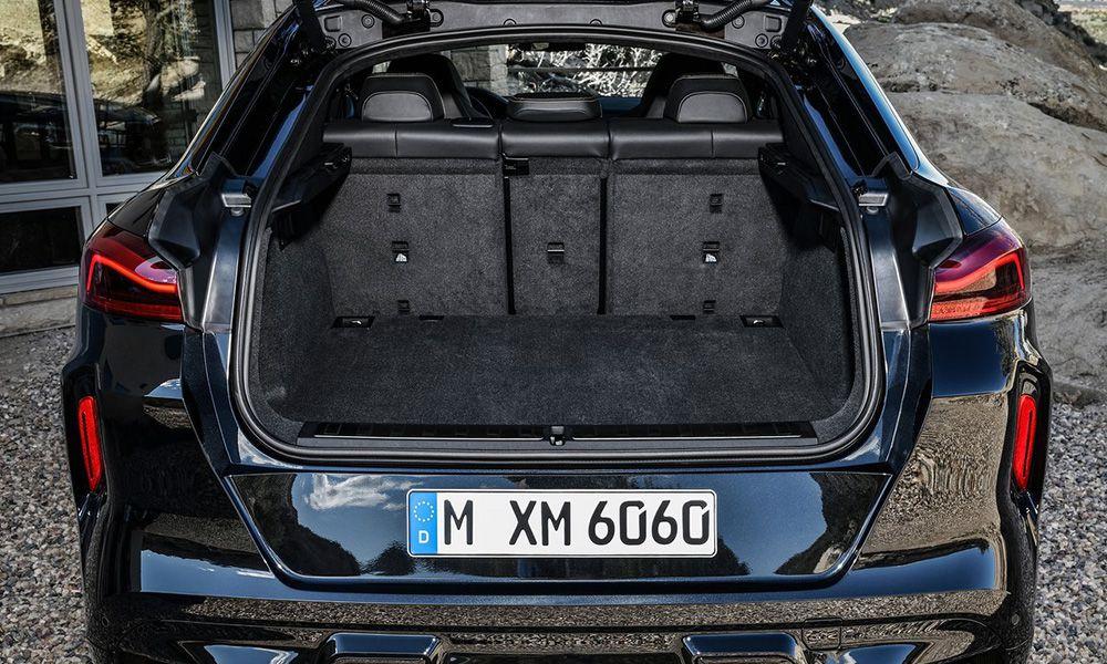 Багажник нового BMW X6 M
