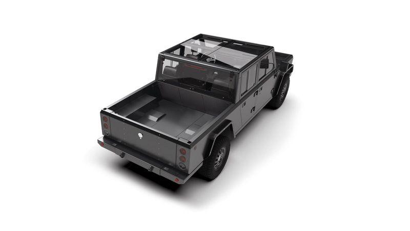 Bollinger B2 со стеклянной крышей