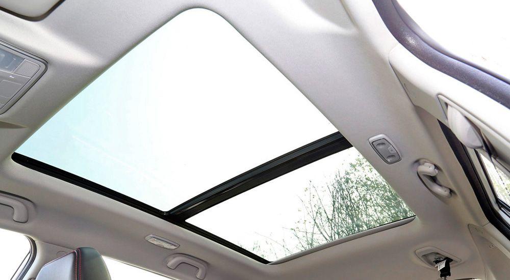 Панорамная крыша кроссовера Чанган ЦС75