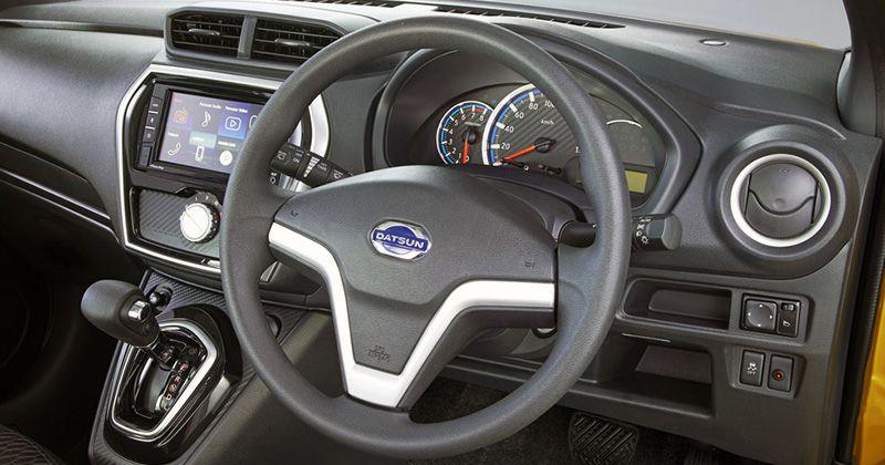 Приборная панель кроссовера Datsun