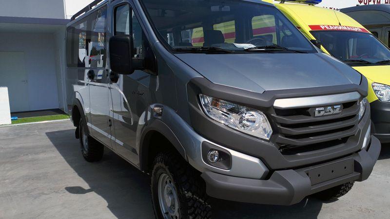 Новый Микроавтобус ГАЗ