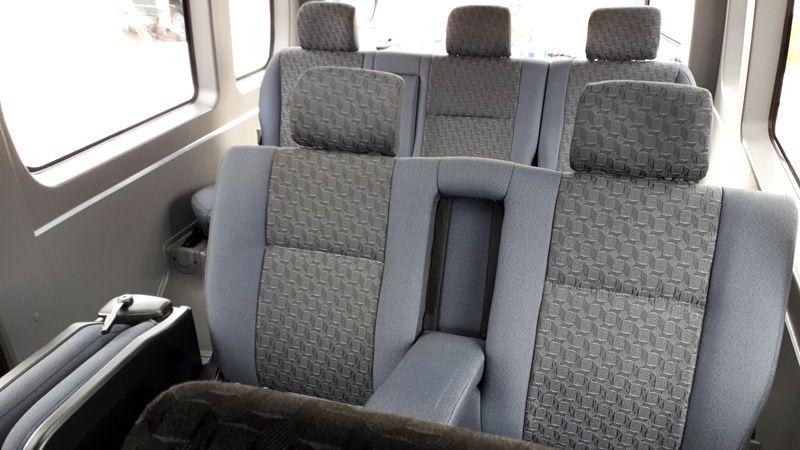 Пассажирские места в новом микроавтобусе ГАЗ
