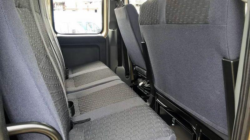 Второй ряд сидений ГАЗ Вепрь-Next
