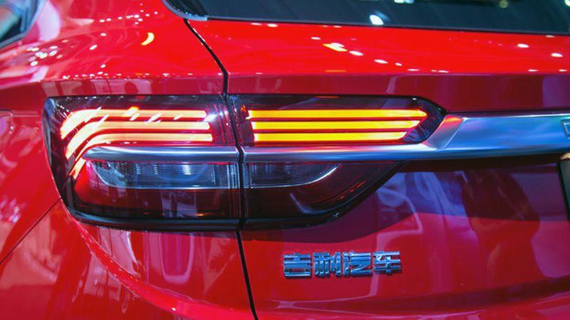 Задние фонари Джили SX11