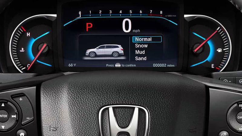 Панель приборов Хонда Пилот 2018