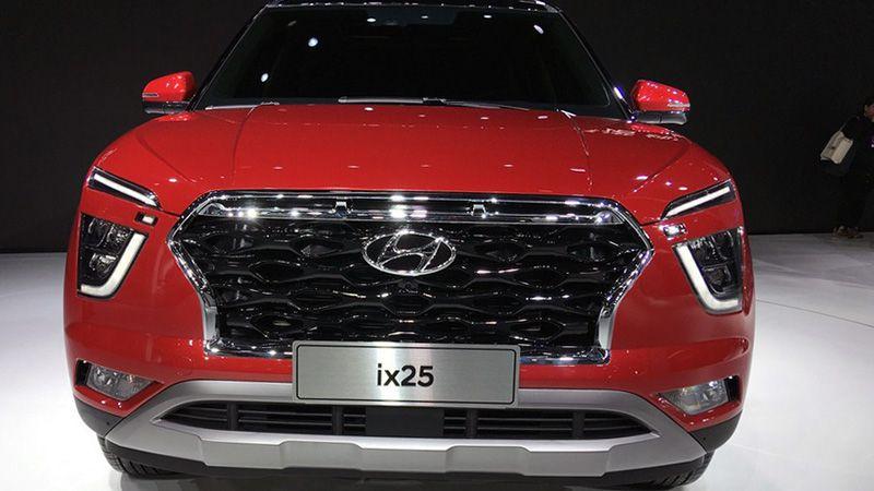 Новый Hyundai ix25 (Creta) 2019-2020 вид спереди