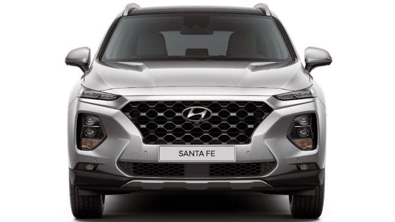 Hyundai Santa Fe 2018 вид спереди