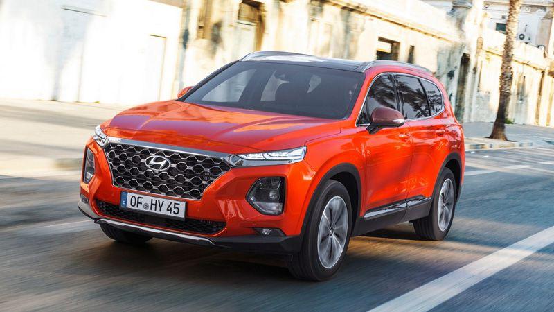 Кроссовер Hyundai Santa Fe 2018 модельного года