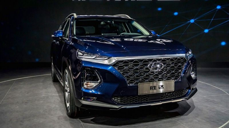 Новый Hyundai Santa Fe для Китая