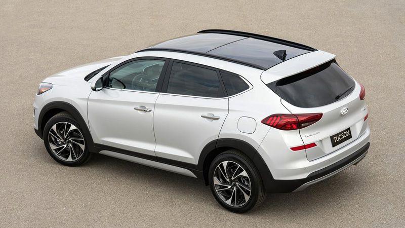 Новый кроссовер Hyundai Tucson 2018