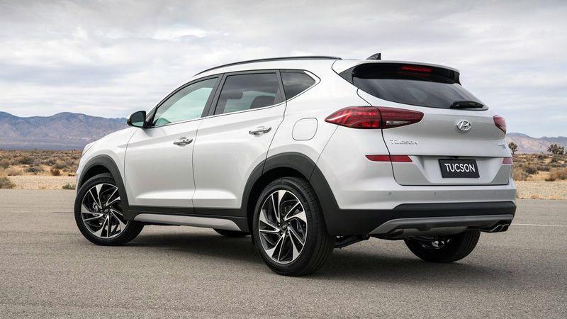 Hyundai Tucson 2018 года