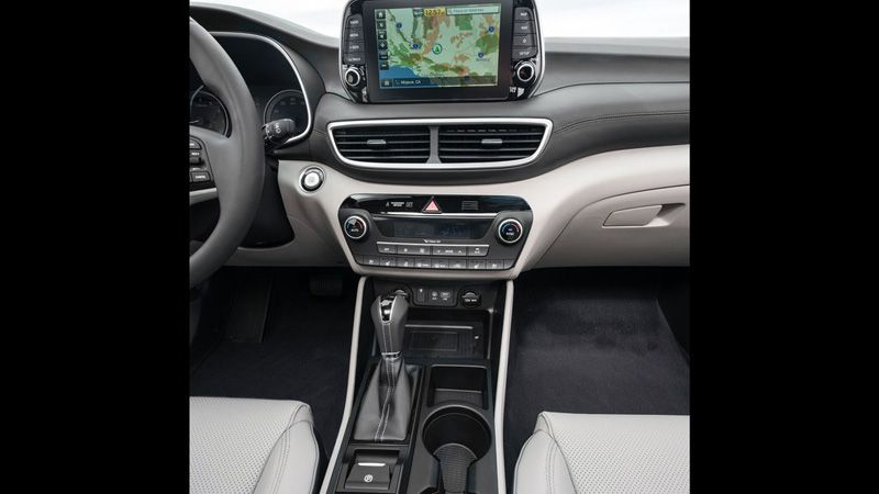 Салон нового Hyundai Tucson 2018 года