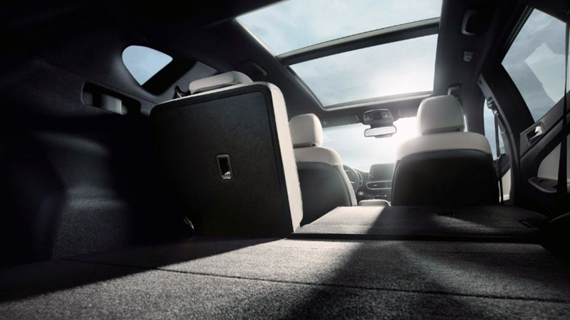 Багажник нового Hyundai Tucson