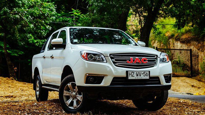 Китайский pickup JAC T6