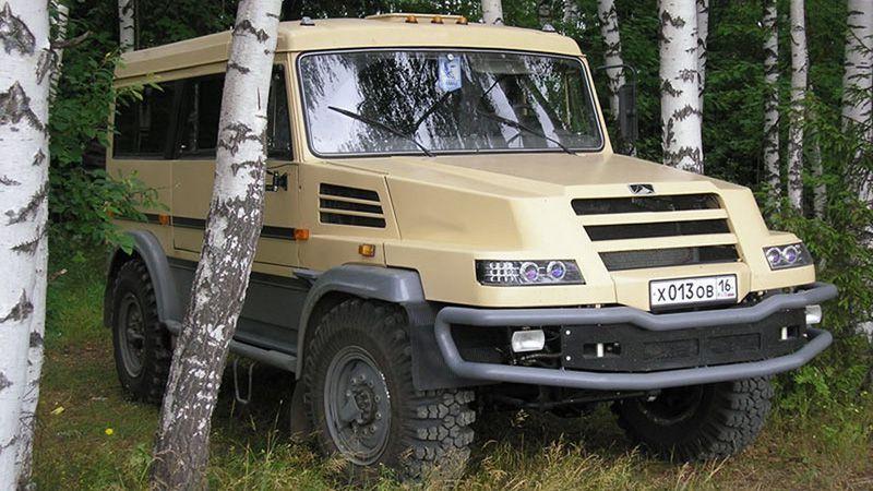 Камаз Бархан прототип 2006 года