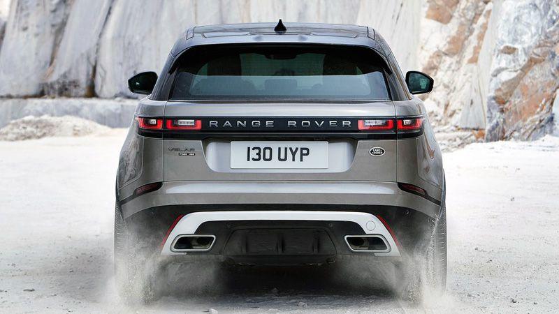 Range Rover Velar 2018 вид сзади