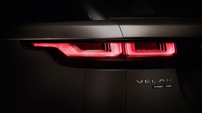 Задние фонари Range Rover Velar 2018
