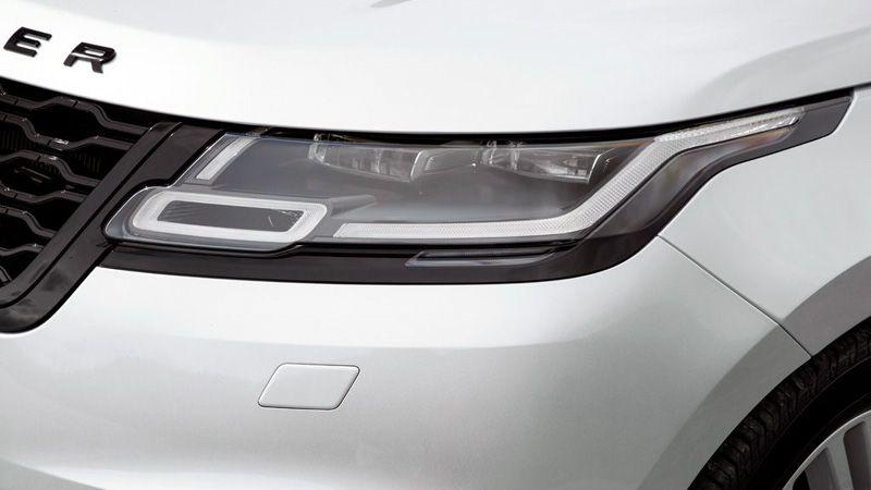 Передняя оптика Range Rover Velar 2018