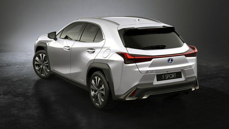 Кроссовер Lexus UX 2018