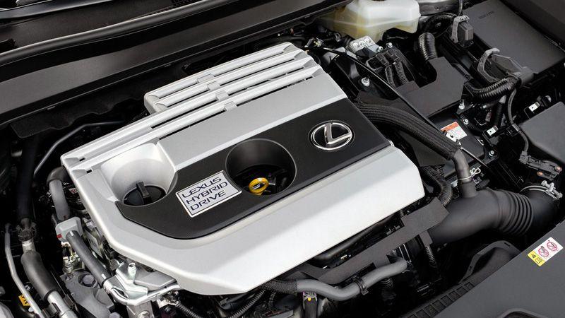 Двигатель гибридного Лексус UX 2019
