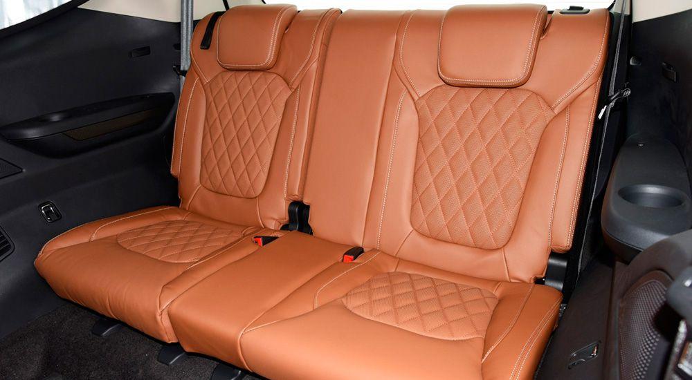 Третий ряд сидений Максус Д90 Про