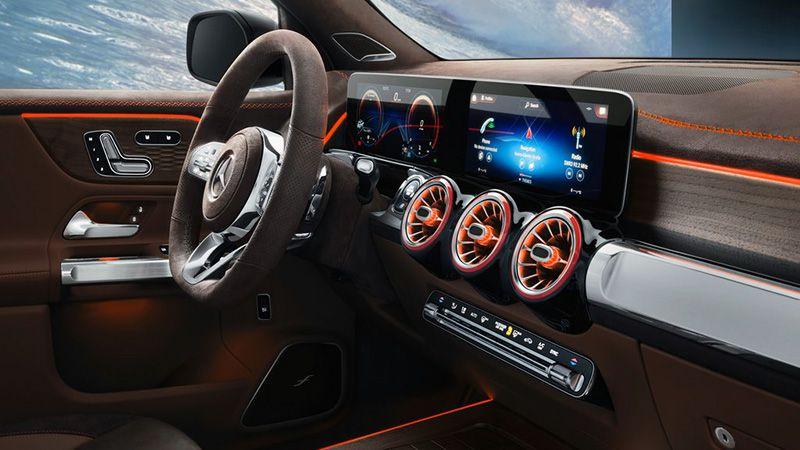 Салон Mercedes GLB Concept 2019