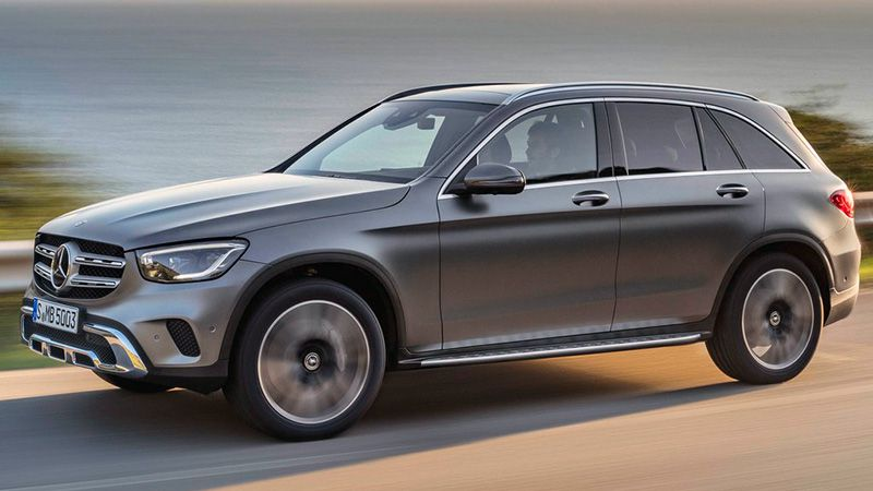 Новый Mercedes-Benz GLC