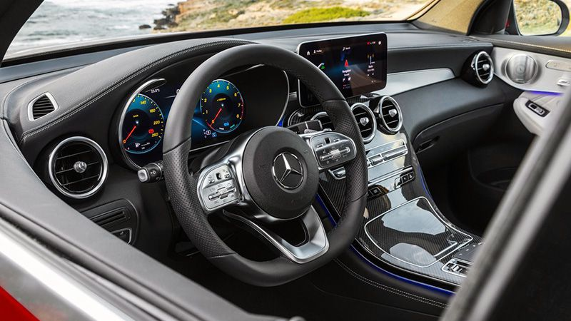 Салон Mercedes GLC Купе
