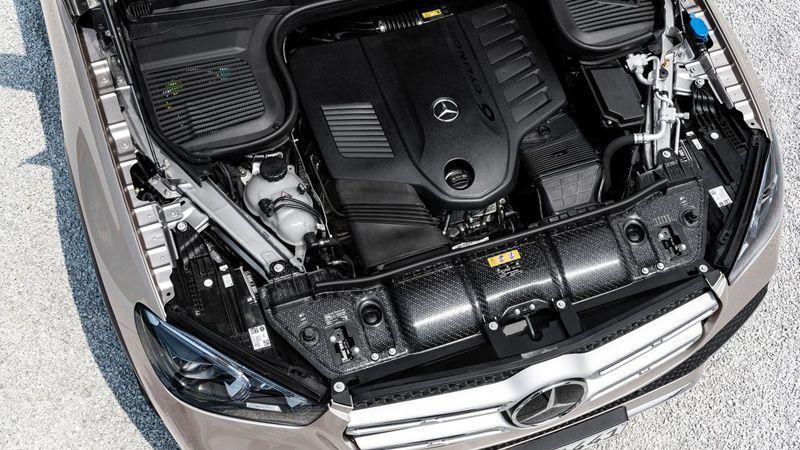 Двигатель нового Mercedes GLE