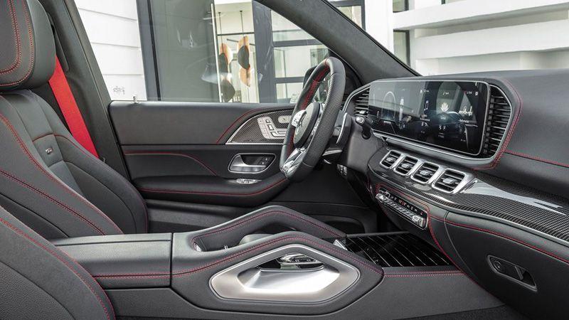 Салон Mercedes-Benz AMG GLE 53