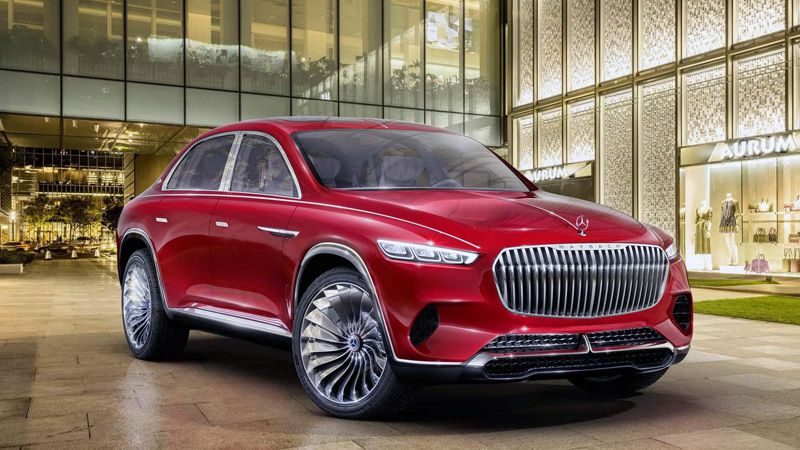 Кроссовер Mercedes-Maybach Ultimate Luxury